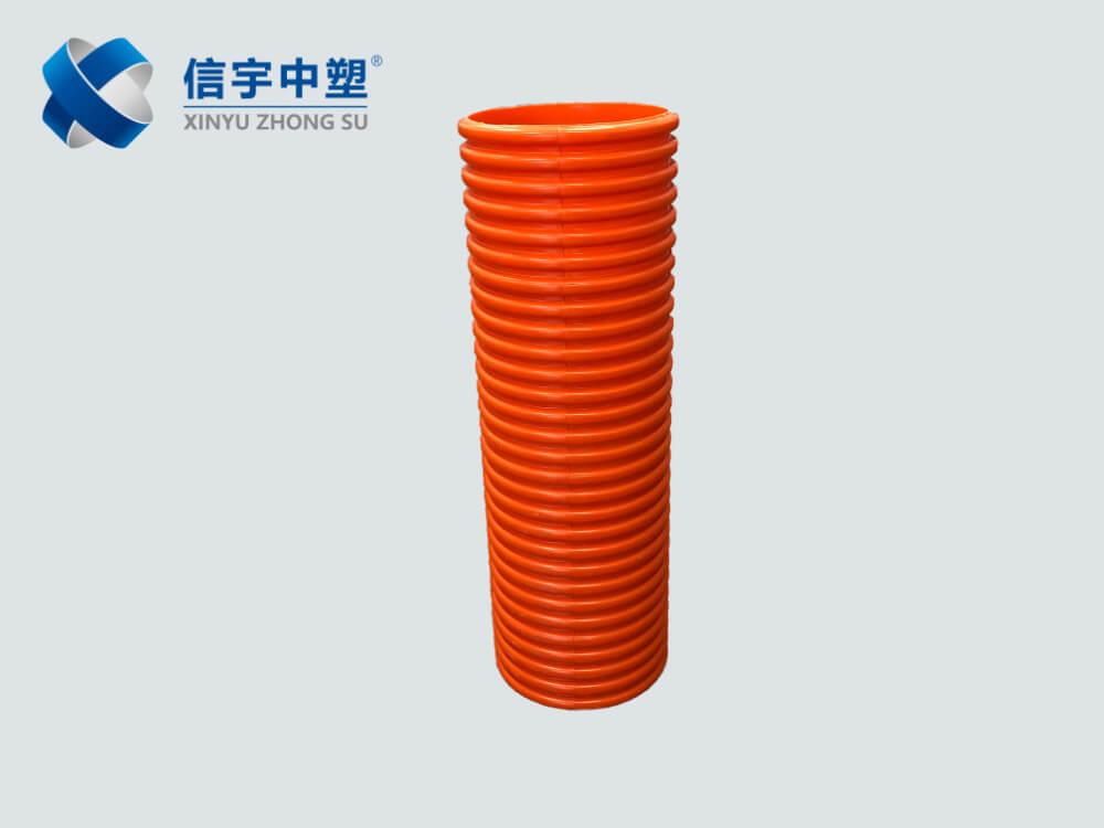 PVC电力波纹管
